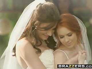 Brazzers - its a precious day for a white lez wedding dolly litt