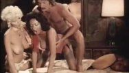 Three-some porn movie with vintage pornstars
