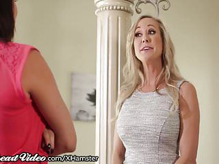 Peta jensen and brandi love lesbo catfight