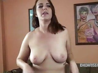 Redhead coed alisha adams makes her taut love tunnel cum hard