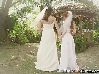 Dolly and kymberlee have a orgy after getting married