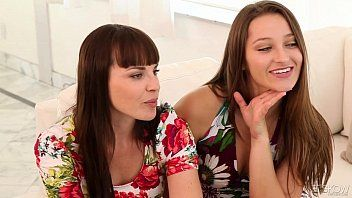 Dani daniels and dana dearmond eat some twat